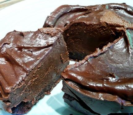 G teau mousse au chocolat sur cro te de noix vegan - Gateau vegan sans gluten ...