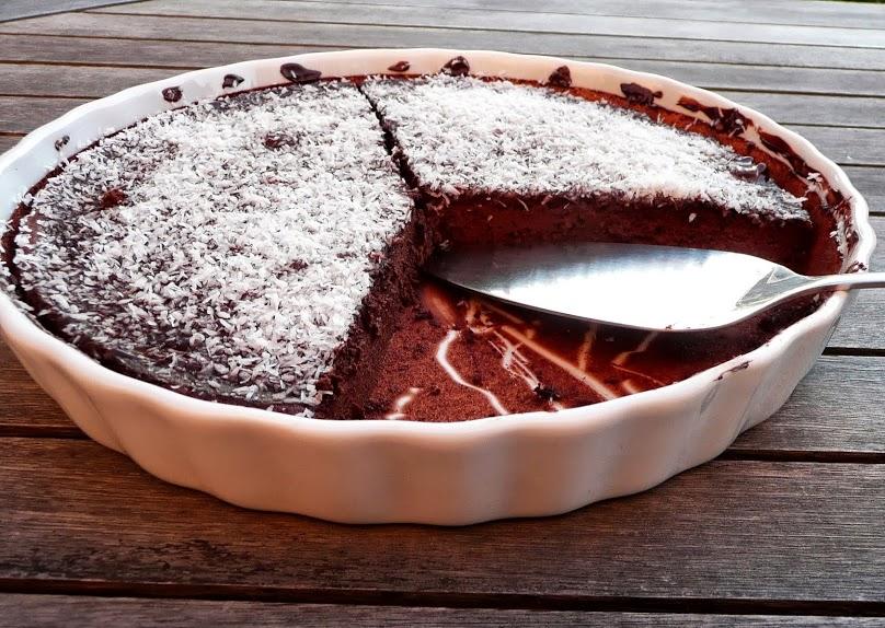 Recette cake au chocolat et aux noix