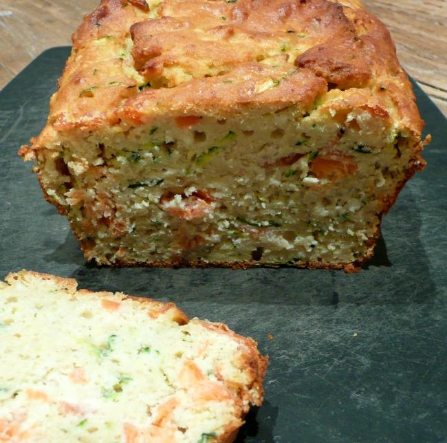 Recette Cake Chevre Courgette Blanc En Neige